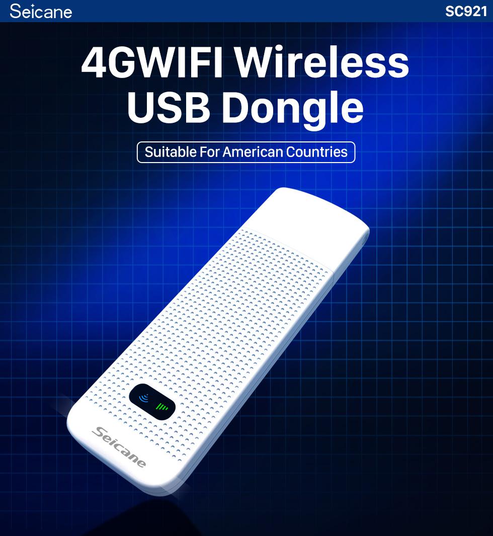 Seicane Module 4G externe de modem universel de haute qualité pour le lecteur DVD de voiture prend en charge le réseau 4G FDD-LTE 3G réseau LTE FDD HSPA
