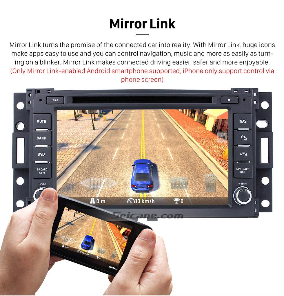 Seicane Pontiac Montana SV6 DVD player GPS Navigation System with Radio TV Bluetooth