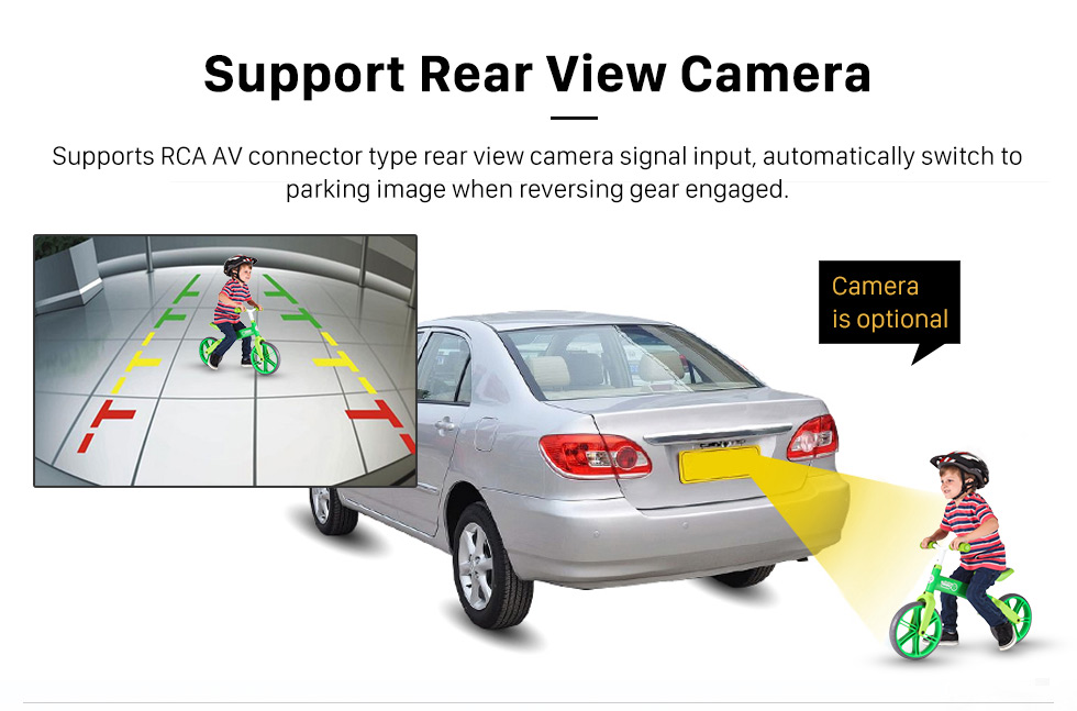 Support Rear View Camera HD 1024*600 Touchscreen 2006-2013 BMW Mini Cooper with 8 inch Android 5.1.1 Autoradio GPS DVD Player Bluetooth HD 1080P Video Steering Wheel Control
