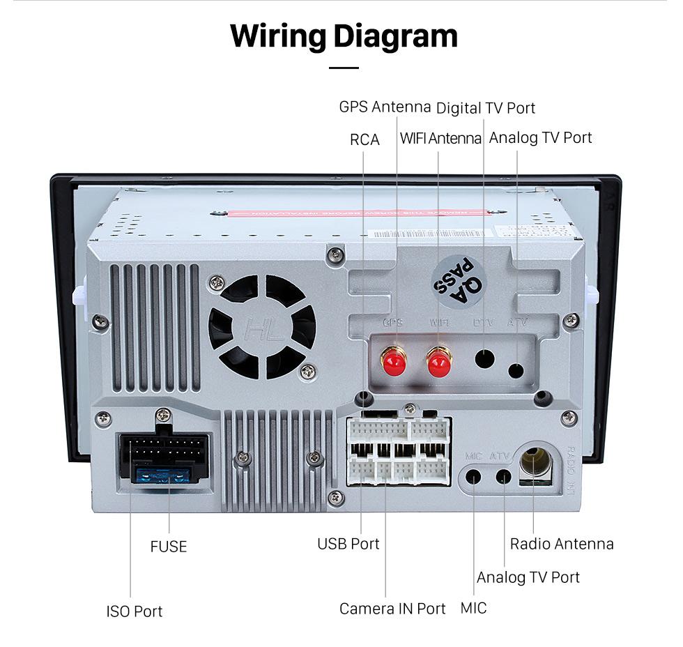 Seicane OEM Android 8.0 Reproductor de DVD Sistema de navegación GPS para 1994-2003 Audi A8 S8 con HD 1080P Bluetooth pantalla táctil WiFi TV Radio SD Backup cámara control del volante USB