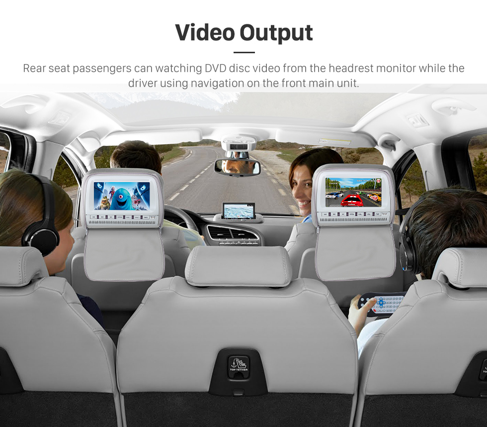 Seicane Aftermarket Android 8.0 GPS Navigation system for 2005-2012 Mercedes-Benz GL CLASS X164 GL320 GL350 GL420 GL450 GL500 with DVD Player Touch Screen Radio WiFi TV HD 1080P Video Rearview Camera steering wheel control USB SD Bluetooth