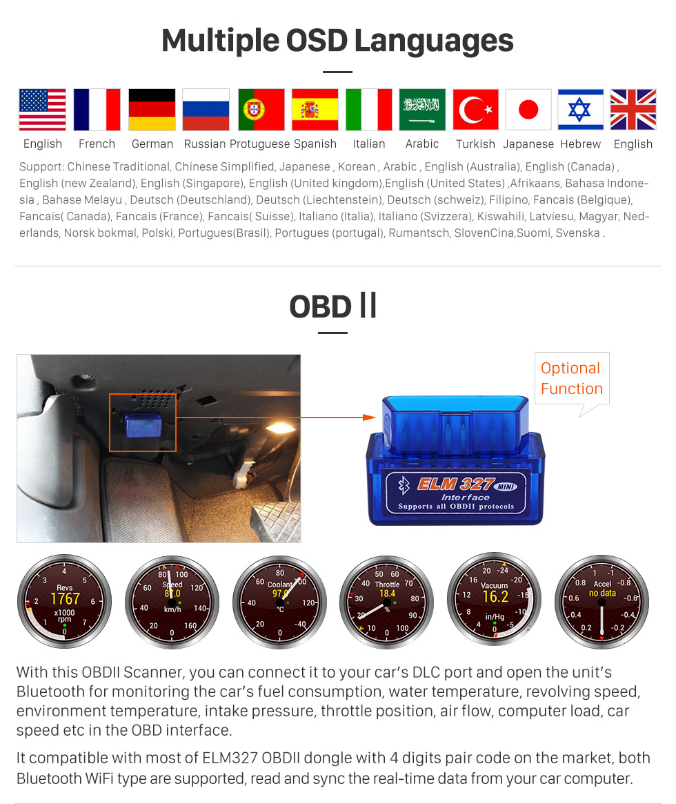Seicane 8 inch Android 8.0 GPS Navigation system for 2014-2016 Mercedes-Benz A W176 B-Class CLA GLA GLE W166 with Touch Screen DAB+ HD 1080P Video Bluetooth WiFi steering wheel control
