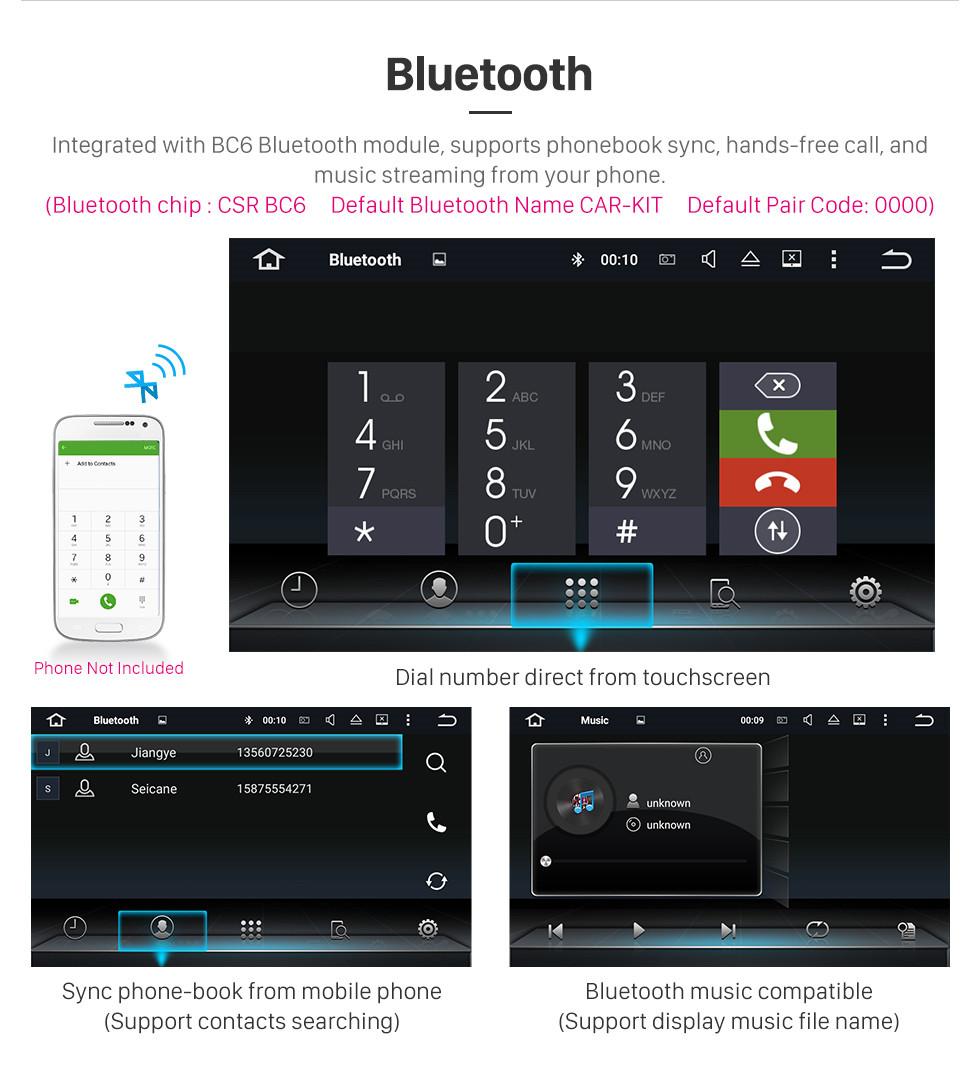 Seicane OEM 2013 2014 2015 Mercedes Benz E Class W212 E200 E250 E350 E400 Android 9.0 Radio 7 inch HD Touchscreen Car Multimedia Player GPS Navigation Bluetooth Phone WIFI 1080P Video SWC
