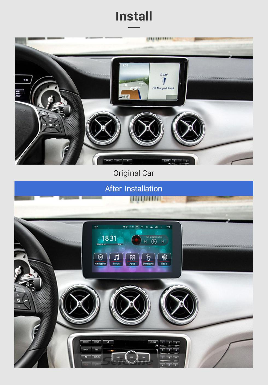 Seicane 2016 2017 2018 Mercedes Benz  A/GLA Class 2017- 2018 G Class 2015-2018 CLA/CLS Class Android 9.0 Radio 9 inch 1024*600 HD Touchscreen GPS Navigation Bluetooth WIFI SWC