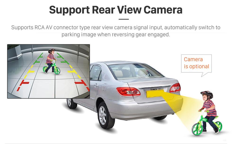Seicane OEM Android 9.0 Sistema de navegación GPS 2006-2011 Buick Lucerne con radio Reproductor de DVD Bluetooth Pantalla táctil DVR WIFI Control del volante