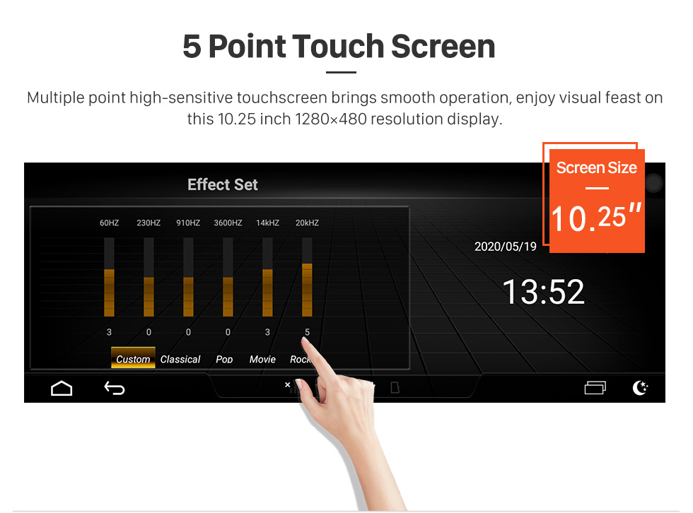 Seicane 10.25 inch for 2006 2007 2008 2009 Audi Q7 Radio Android 9.0 GPS Navigation With HD Touchscreen Bluetooth support Carplay TPMS OBD2