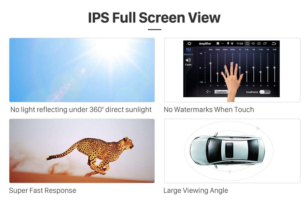 Seicane 10,25 polegadas para 2010 2011 2012 2013 2014 2015 Audi Q7 Rádio Bluetooth Android 9.0 HD Touchscreen Suporte de navegação GPS Carplay DAB + DVR