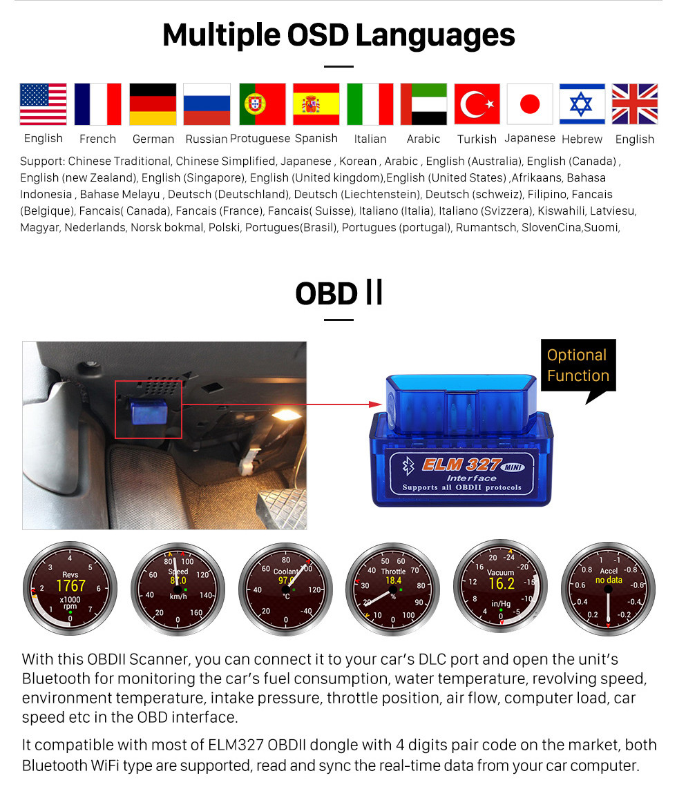 Seicane 8 Inch Android 9.0 HD 1024*600 Touchscreen for 2012-2016 Mercedes Benz A Class W176 with GPS Navigation system DVD Player  WiFi steering wheel control 1080P Video