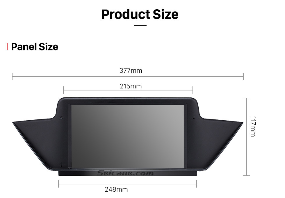 Seicane Android 9.0 2009-2013 BMW X1 E84 radio upgrade for 10.1 inch HD touchscreen autoradio GPS navigation mirror link WIFI OBDII DVR HD 1080P Video