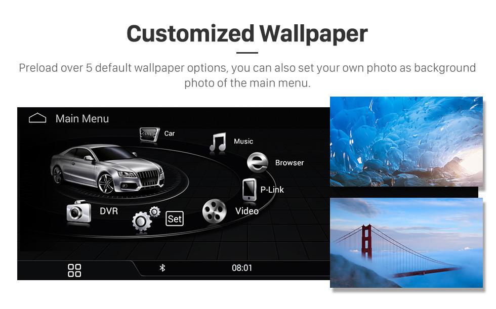 Seicane 10.25 Inch 2017 AUDI A3 Android 9.0 Автомобильный GPS-навигатор Радио Стерео Головное устройство с сенсорным экраном WIFI FM AM Bluetooth музыка Поддержка Carplay DVR Камера заднего вида