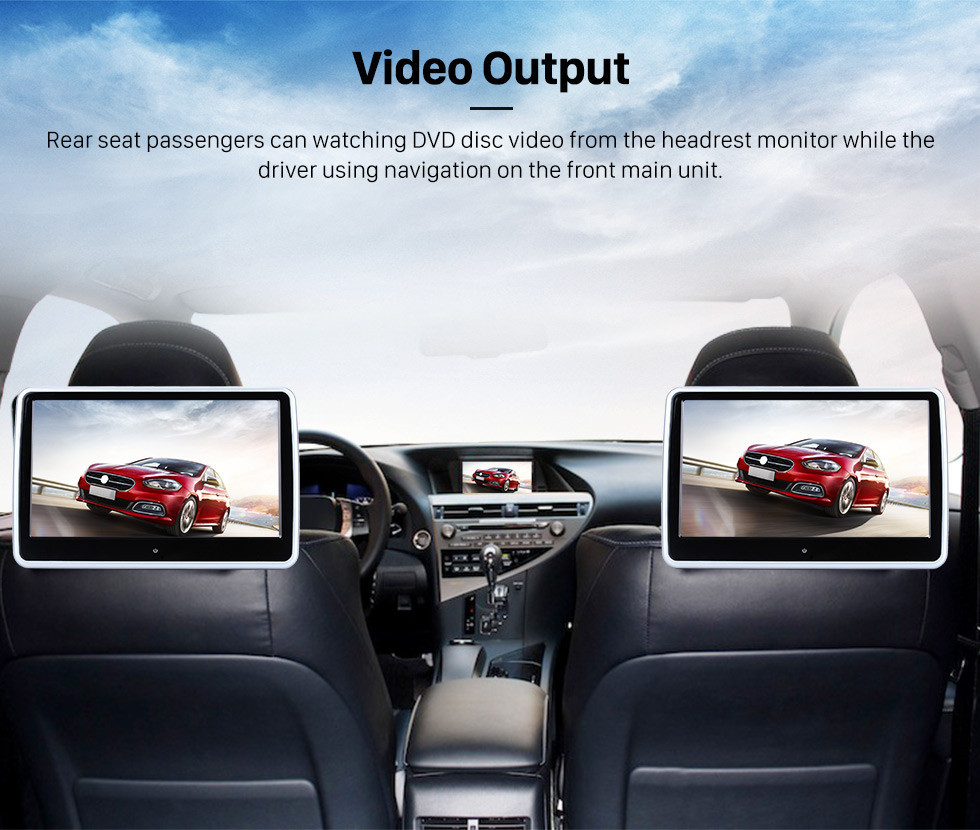 Seicane OEM Android 10.0 DVD Player GPS Navigation system for 2004-2012 Mercedes-Benz SLK W171 R171 with HD 1080P Video Bluetooth Touch Screen Radio WiFi TV Backup Camera steering wheel control USB SD