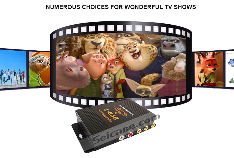 Seicane Digital TV Tuner DVB-T For Seicane car dvd player