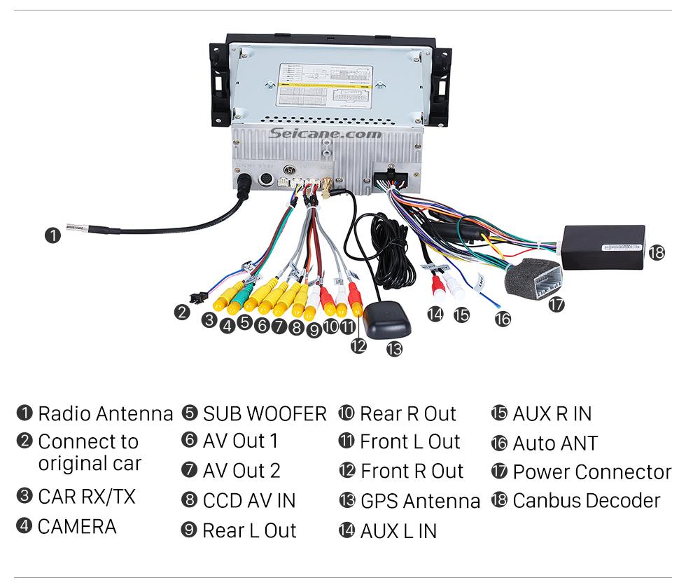 In Dash Autoradio Gps Navigation Bluetooth For 2006 2007 Mitsubishi Raider With Dvd Tv Tuner Aux
