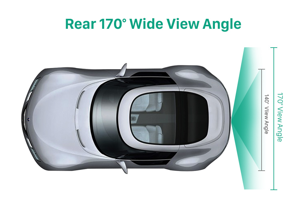 Rear 170 Wide View Angle HD Wired Car Parking Backup Reversing Camera for 2011-2013 VW Volkswagen Touareg 2012-2013 Sharan Waterproof four-color ruler and LR logo Night Vision free shipping
