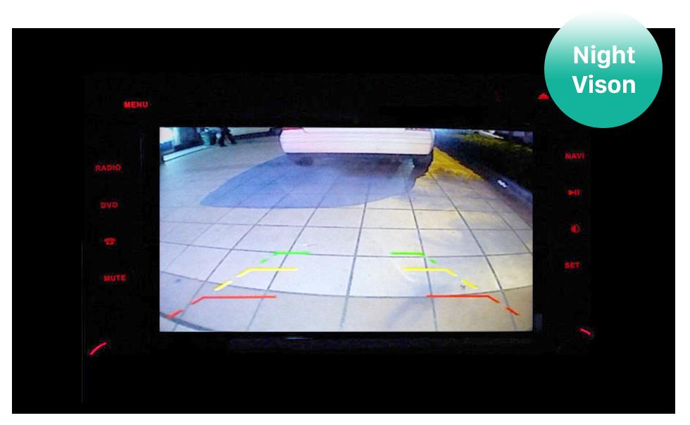 Seicane HD Wired Car Parking Backup Reversing Camera for 2008-2013 Audi TT Waterproof Blue Ruler Night Vision free shipping