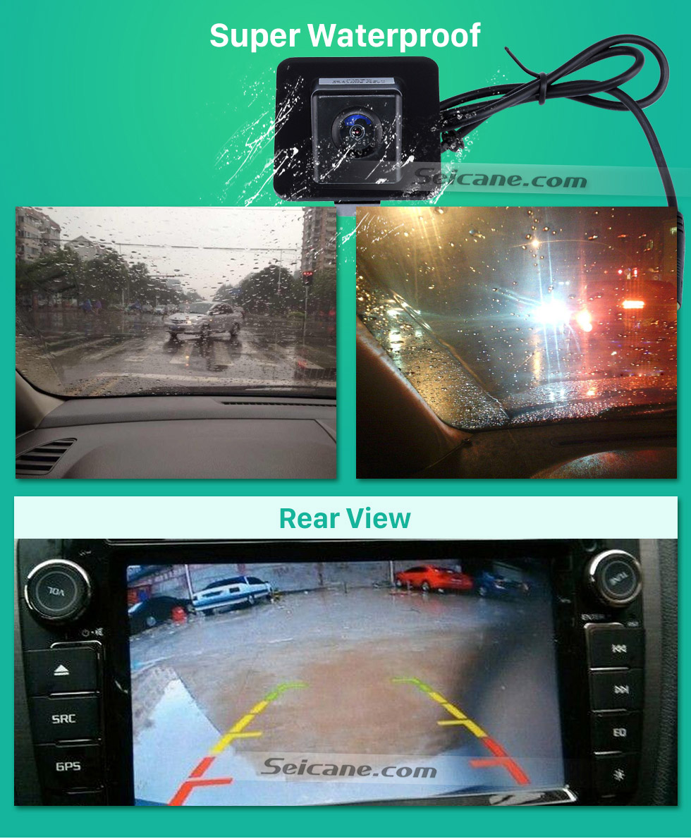 Super Waterproof HD Car Rearview Camera for 2009-2012 Mercedes-Benz GLK free shipping