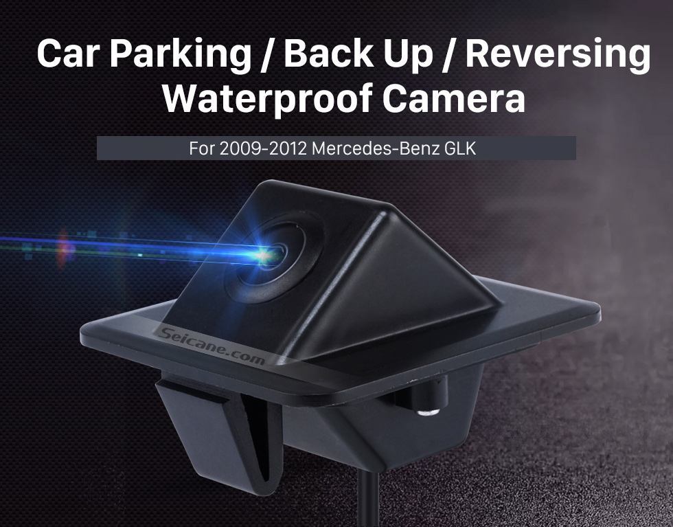 Seicane HD 600 TV Lines Wired Car Parking Backup Reversing Camera for 2009-2012 Mercedes-Benz GLK Night Vision Waterproof free shipping