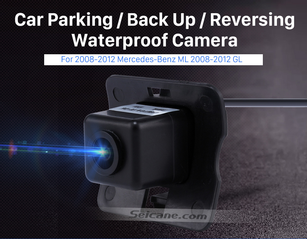 Seicane HD SONY CCD 600 TV Lines Wired Car Parking Backup Camera for 2008-2012 Mercedes-Benz ML 2008-2012 GL Waterproof Night Vision free shipping
