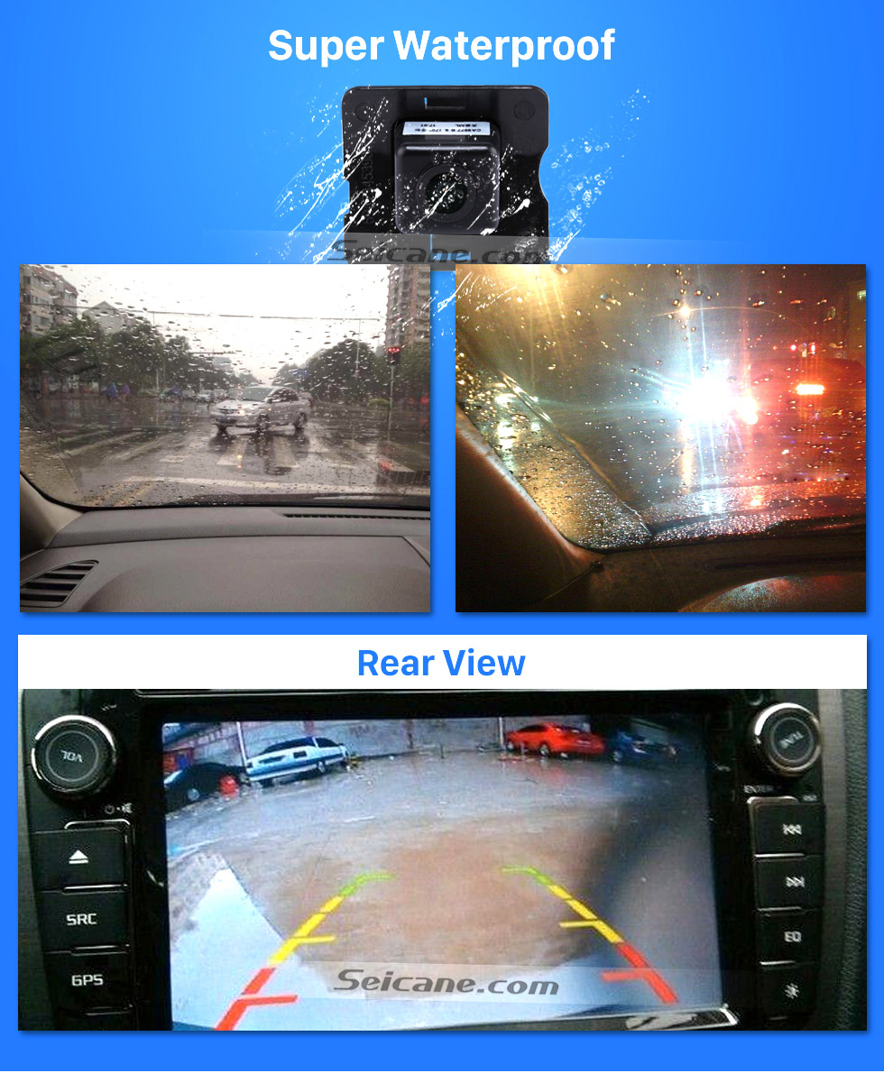 Super Waterproof HD SONY CCD 600 TV Lines Wired Car Parking Backup Camera for 2008-2012 Mercedes-Benz ML 2008-2012 GL Waterproof Night Vision free shipping