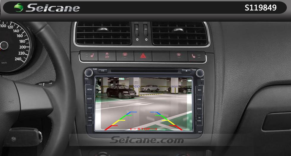 Seicane HD W-LAN Auto Parken Backup kamera für 2008-2011 Mercedes-Benz B200 A160 wasserdicht Vierfarben Herrscher und LR logo Nachtsicht Versand kostenfrei