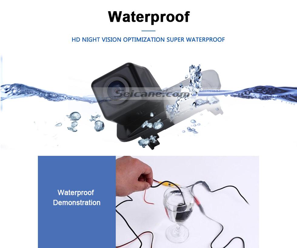 Waterproof HD W-LAN Auto Parken Backup kamera für 2008-2011 Mercedes-Benz B200 A160 wasserdicht Vierfarben Herrscher und LR logo Nachtsicht Versand kostenfrei