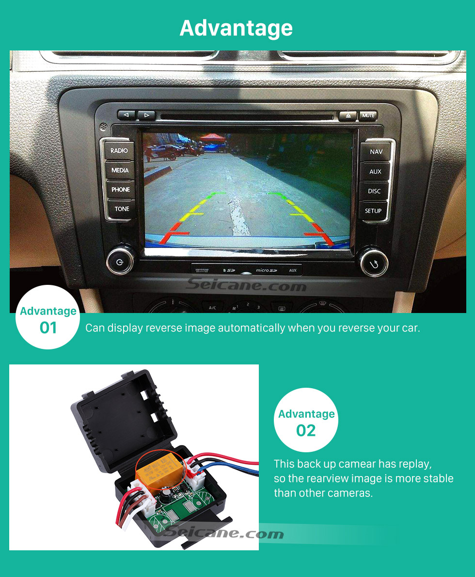 Advantage HD Car Rearview Camera for 2009-2013 Mercedes-Benz R free shipping