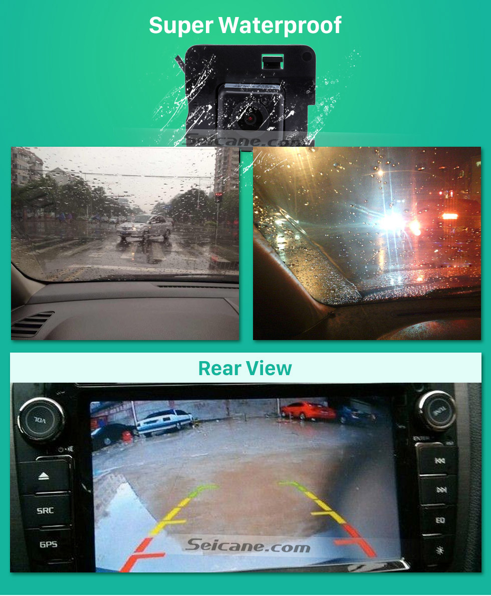 Super Waterproof HD Car Rearview Camera for 2009-2013 Mercedes-Benz R free shipping