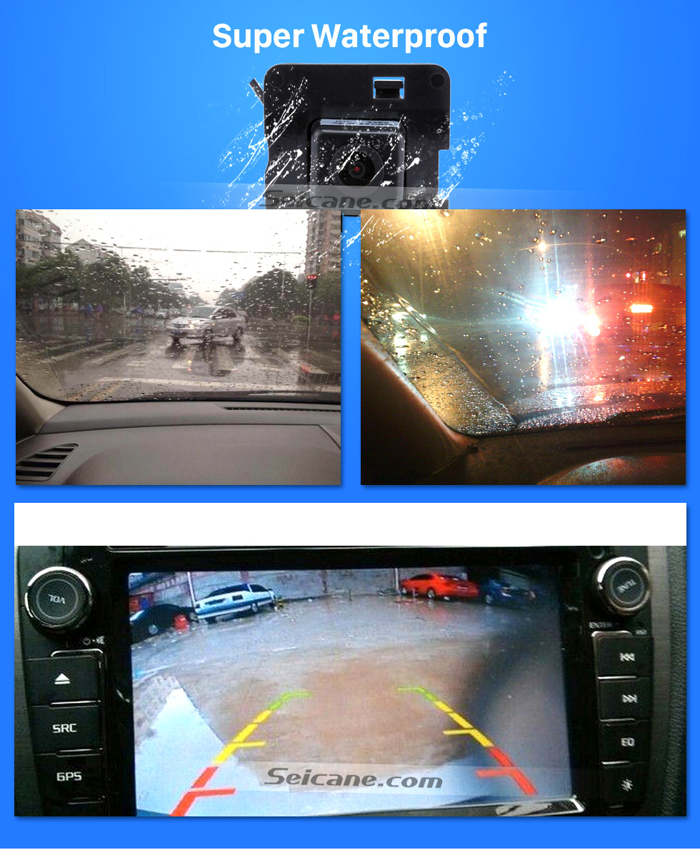 Super Waterproof HD 600 TV Lines Wired Car Parking Backup Reversing Camera for 2009-2013 Mercedes-Benz R Waterproof Night Vision free shipping