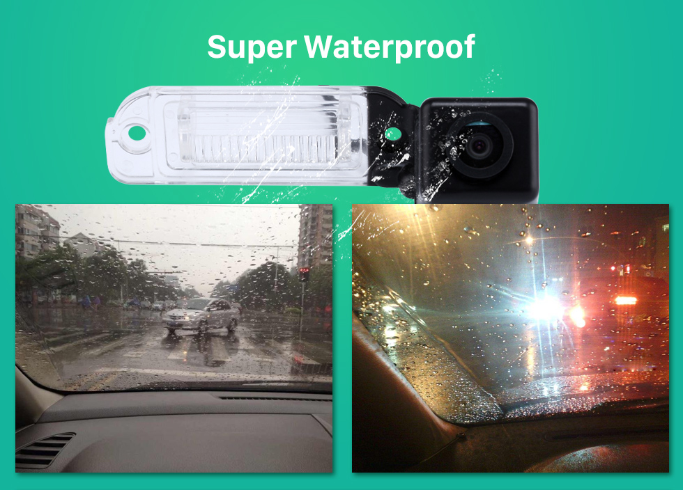 Super Waterproof HD Car Rearview Camera for 2008-2012 Mercedes-Benz GL 2008-2012 ML free shipping