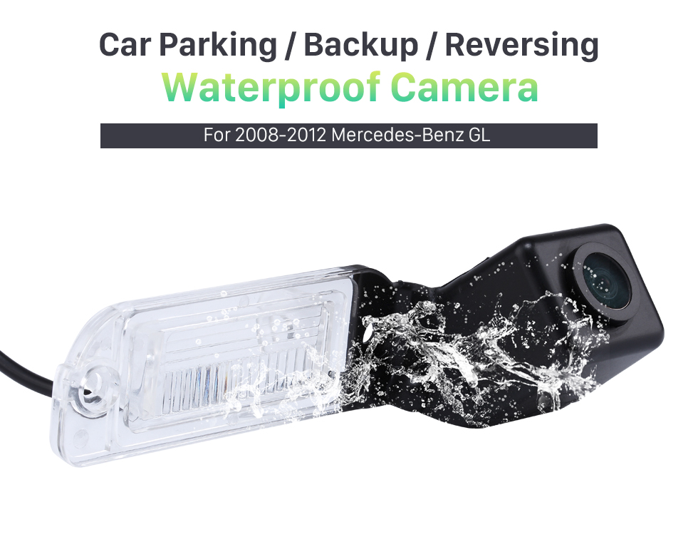 Waterproof Camera HD Car Rearview Camera for 2008-2012 Mercedes-Benz GL 2008-2012 ML free shipping