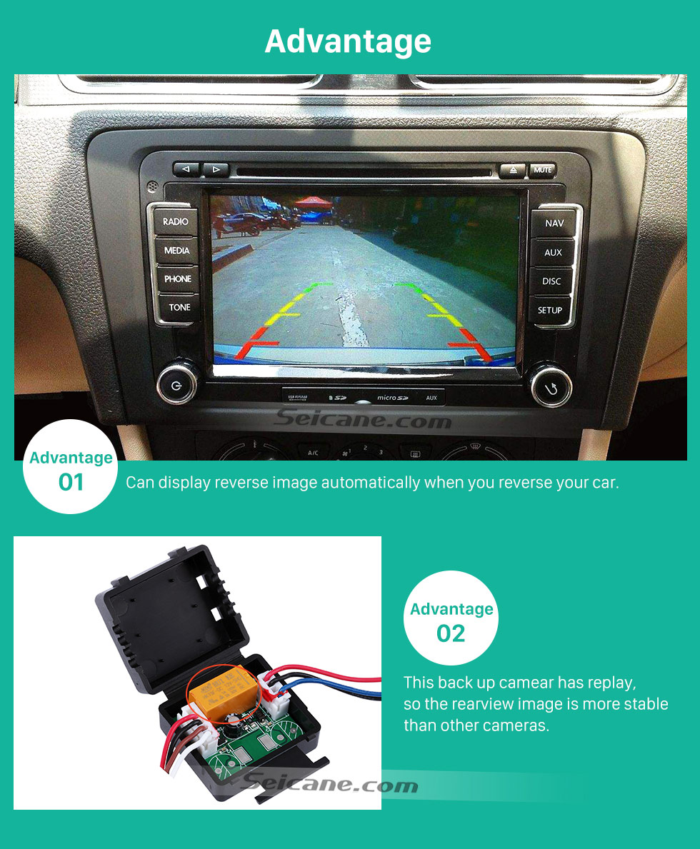 Advantage Buy cheap HD Car Rearview Camera for 2008-2013 Mercedes-Benz SMART  free shipping