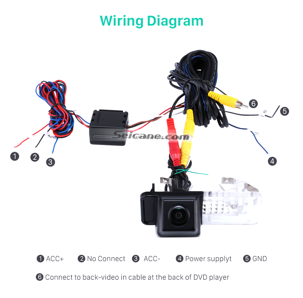 wiring diagram buy cheap hd car rearview camera for 2008-2013 mercedes-benz  smart