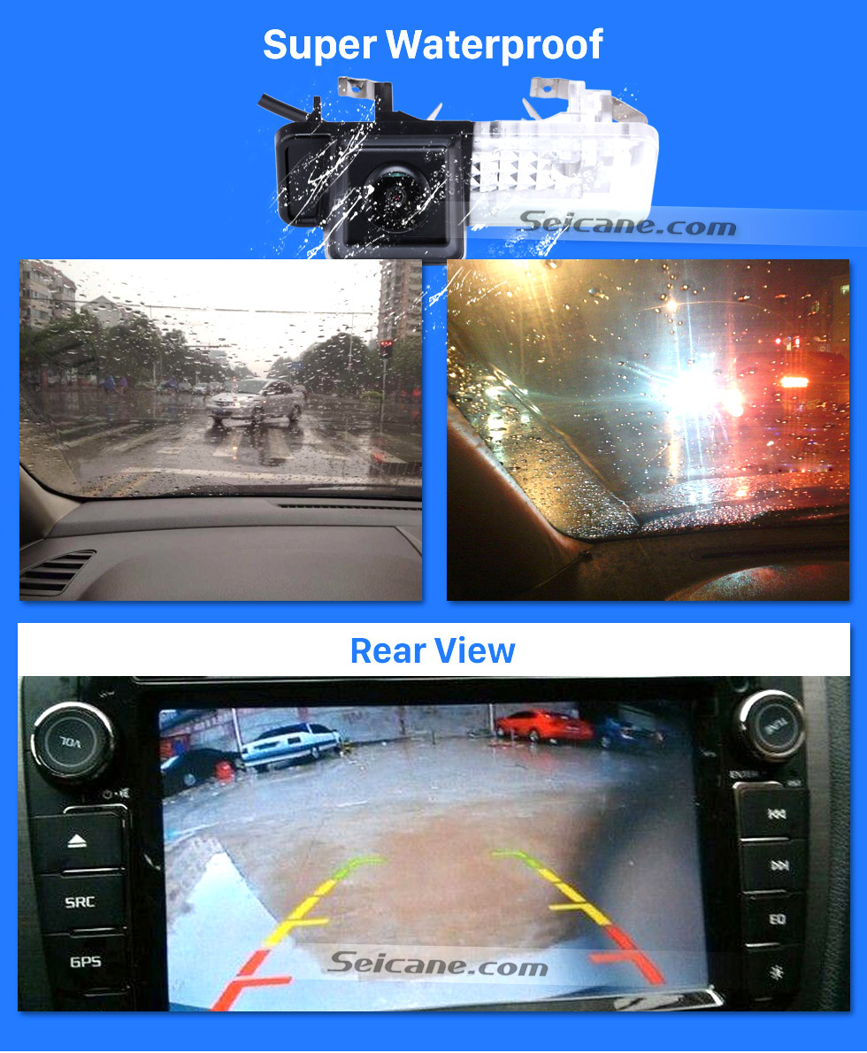 Super Waterproof HD SONY CCD 600 TV Lines Wired Car Parking Backup Reversing Camera for 2008-2013 Mercedes-Benz SMART Waterproof Night Vision free shipping