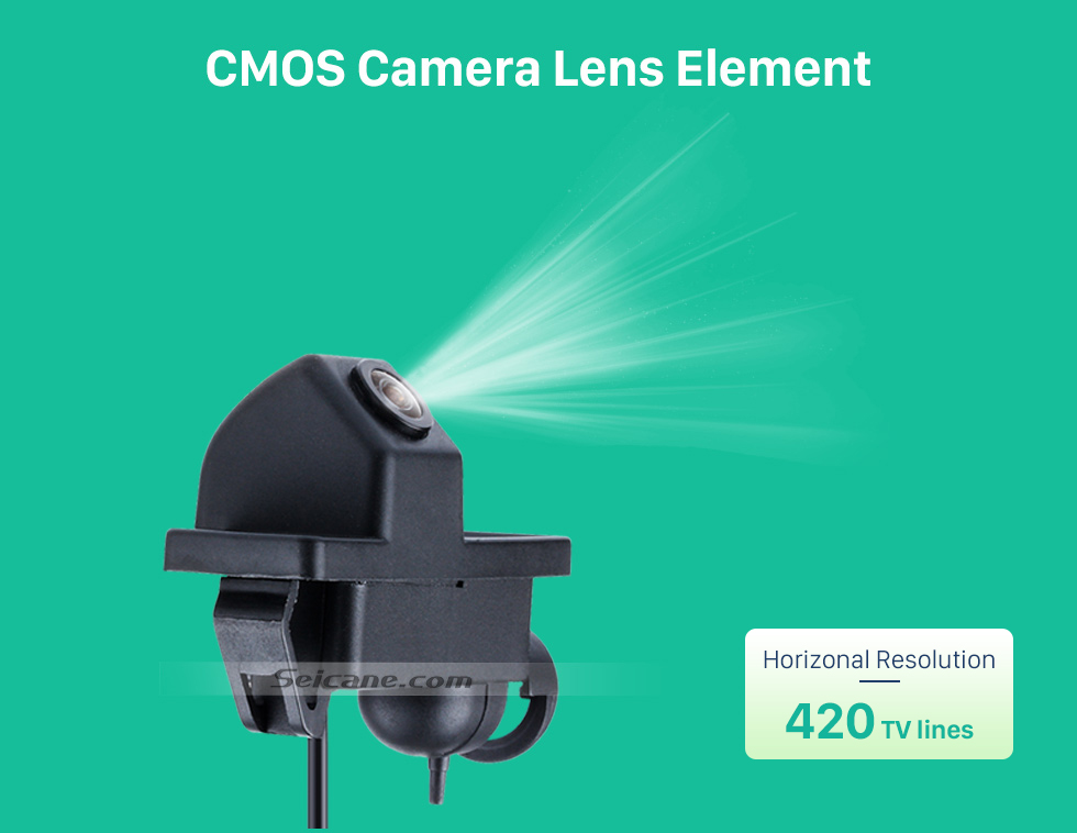 CMOS Camera Lens Element Hot selling Mercedes-Benz Viano Vito Car Rear View Camera with four-color ruler and LR logo Night Vision free shipping