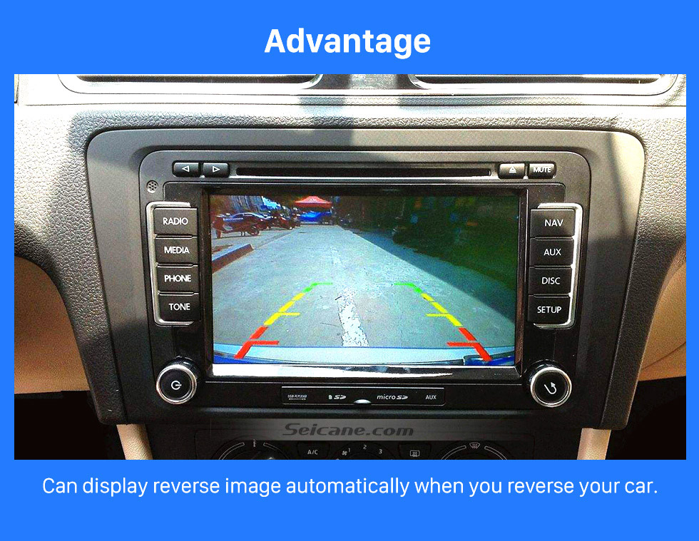 Advantage HD 600 TV Lines Wired Car Parking Backup Reversing Camera for Mercedes-Benz Viano Vito Waterproof Night Vision free shipping