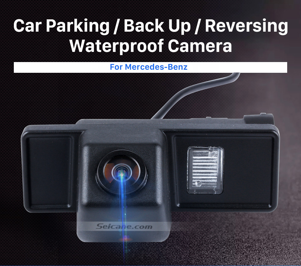Seicane HD 600 TV Lines Wired Car Parking Backup Reversing Camera for Mercedes-Benz Viano Vito Waterproof Night Vision free shipping