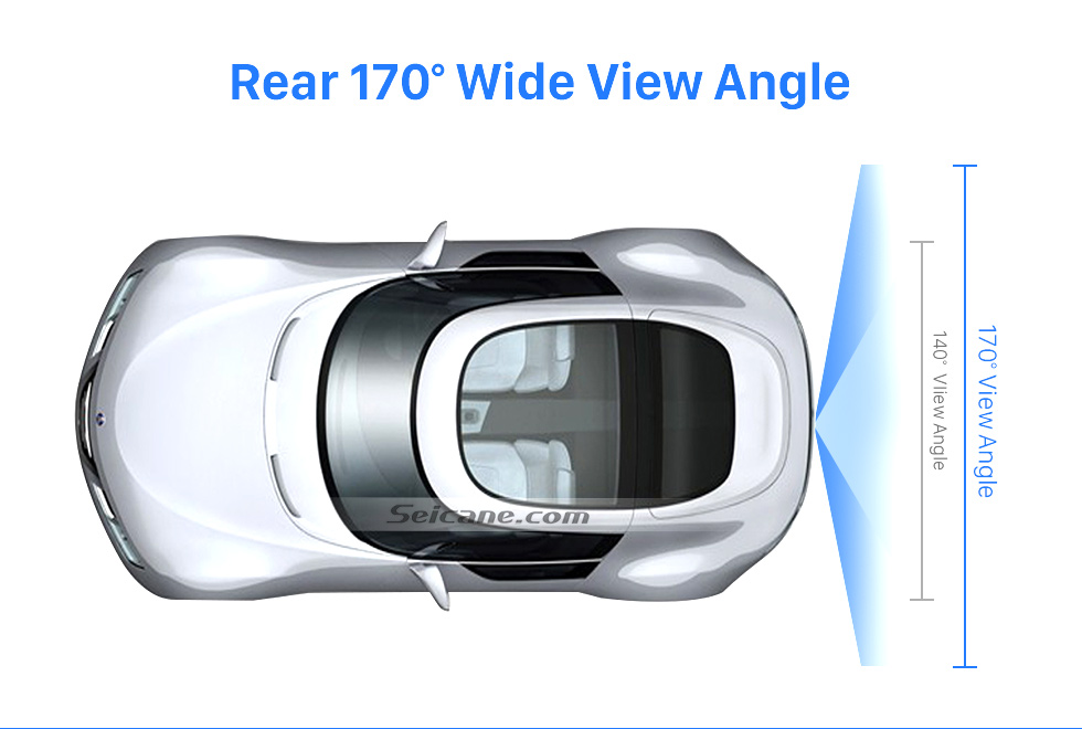 Rear 170 Wide View Angle HD 600 TV Lines Wired Car Parking Backup Reversing Camera for Mercedes-Benz Viano Vito Waterproof Night Vision free shipping