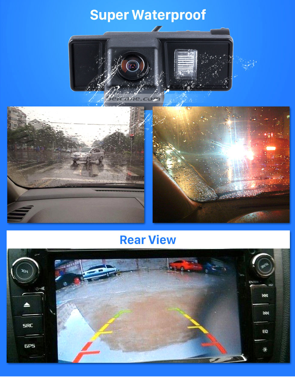 Super Waterproof HD 600 TV Lines Wired Car Parking Backup Reversing Camera for Mercedes-Benz Viano Vito Waterproof Night Vision free shipping