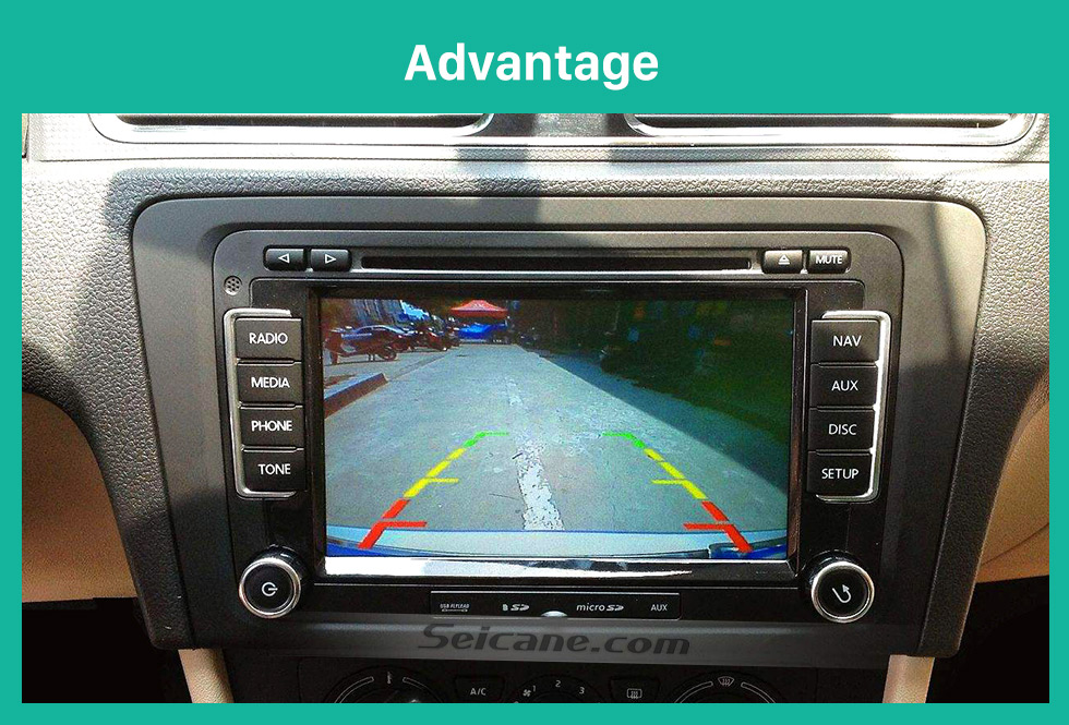 Seicane HD Car Rearview Camera for BMW 3 Series/BMW 5 Series/BMW 7 Series/X1/X3/X5/X6/M5 free shipping