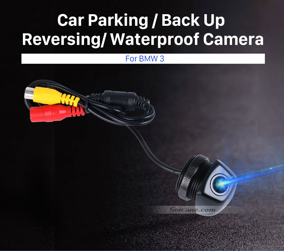 Seicane HD 600 TV Lines Wired Car Parking Backup Reversing Camera for BMW 3  Waterproof Night Vision free shipping
