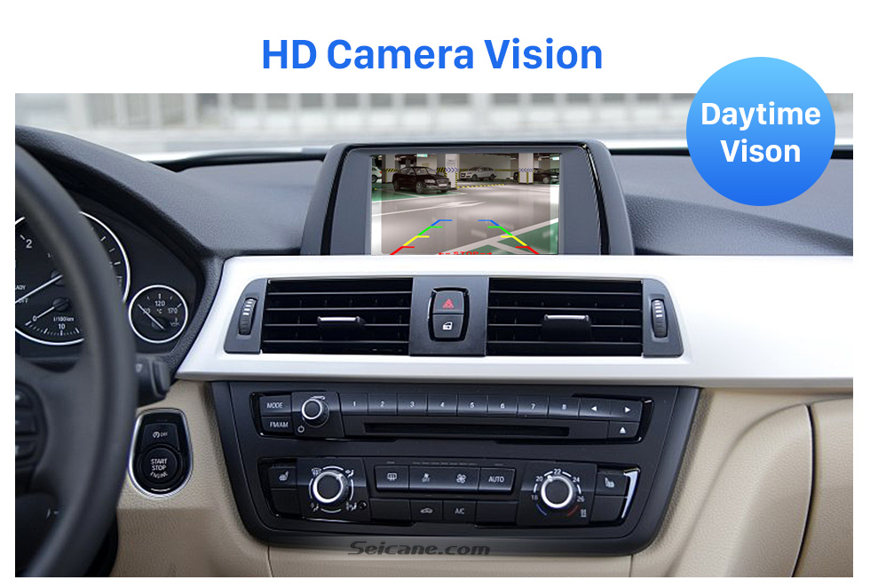 HD Camera Vision HD 600 TV Lines Wired Car Parking Backup Reversing Camera for BMW 3  Waterproof Night Vision free shipping