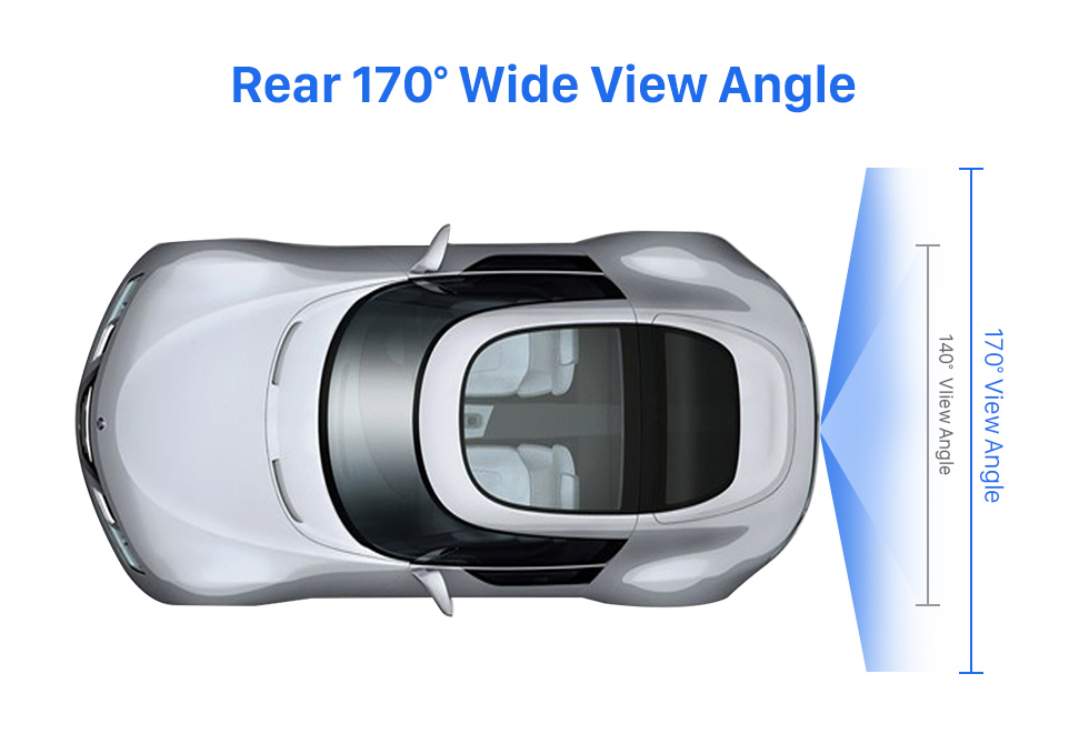 Rear 170 Wide View Angle HD 600 TV Lines Wired Car Parking Backup Reversing Camera for BMW 3  Waterproof Night Vision free shipping