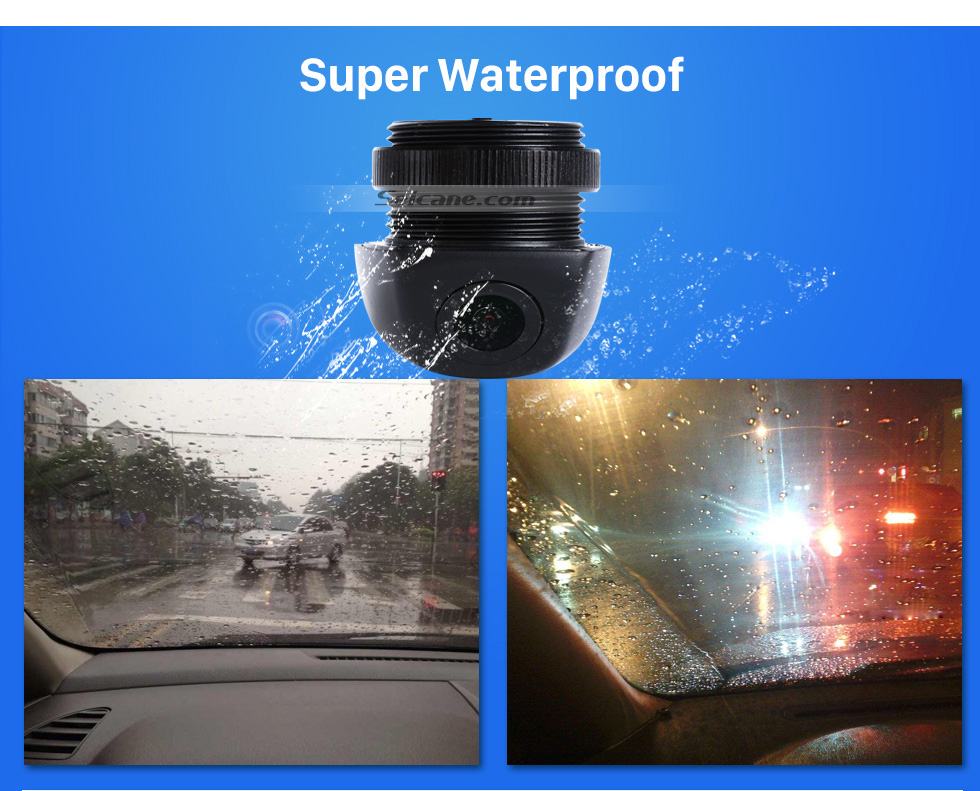Super Waterproof HD 600 TV Lines Wired Car Parking Backup Reversing Camera for BMW 3  Waterproof Night Vision free shipping
