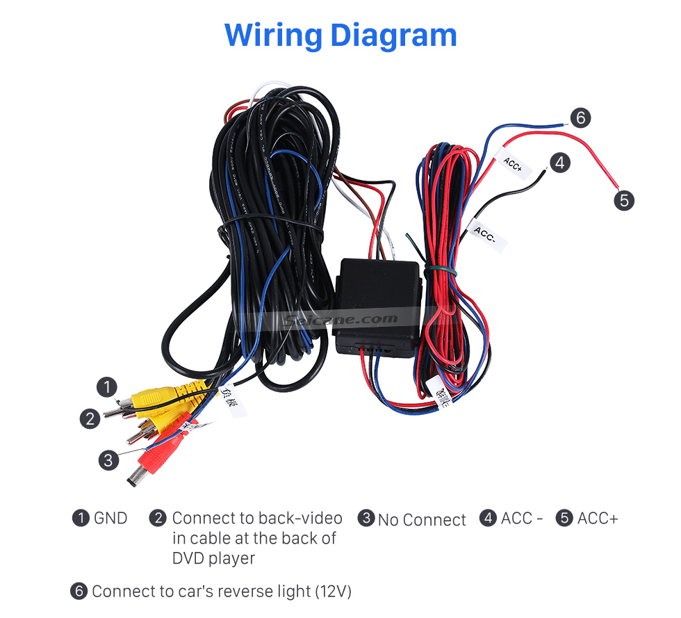 Wiring Diagram HD 600 TV Lines Wired Car Parking Backup Reversing Camera for BMW 3  Waterproof Night Vision free shipping