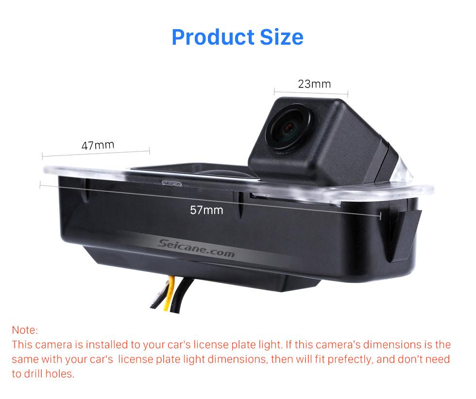 Product Size HD SONY CCD 600 TB линии проводной Автомобильный парковка резервного камеры для 2012-2013 NEW Ford Focus two boxes three boxes водонепроницаемый Ночное видение бесплатная доставк
