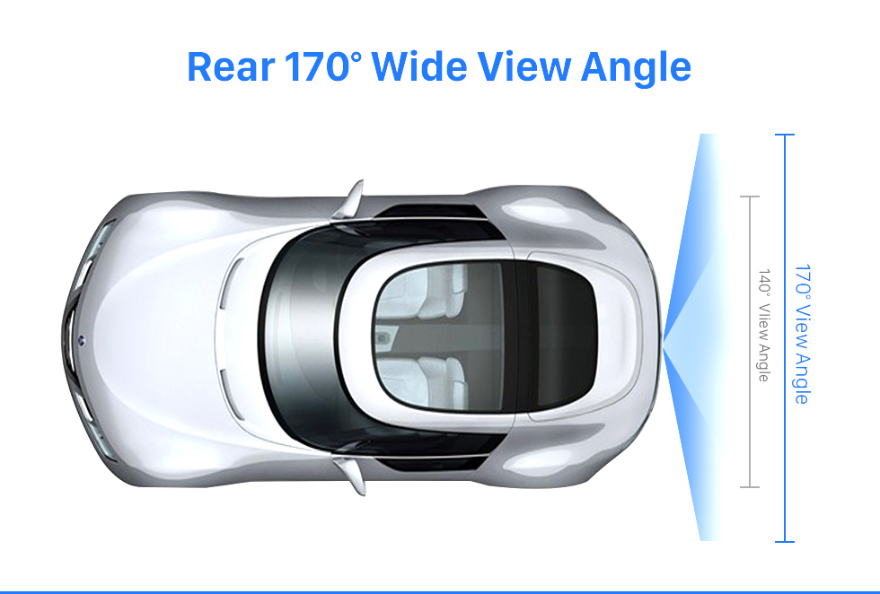 Rear 170 Wide View Angle HD SONY CCD 600 TB линии проводной Автомобильный парковка резервного камеры для 2012-2013 NEW Ford Focus two boxes three boxes водонепроницаемый Ночное видение бесплатная доставк