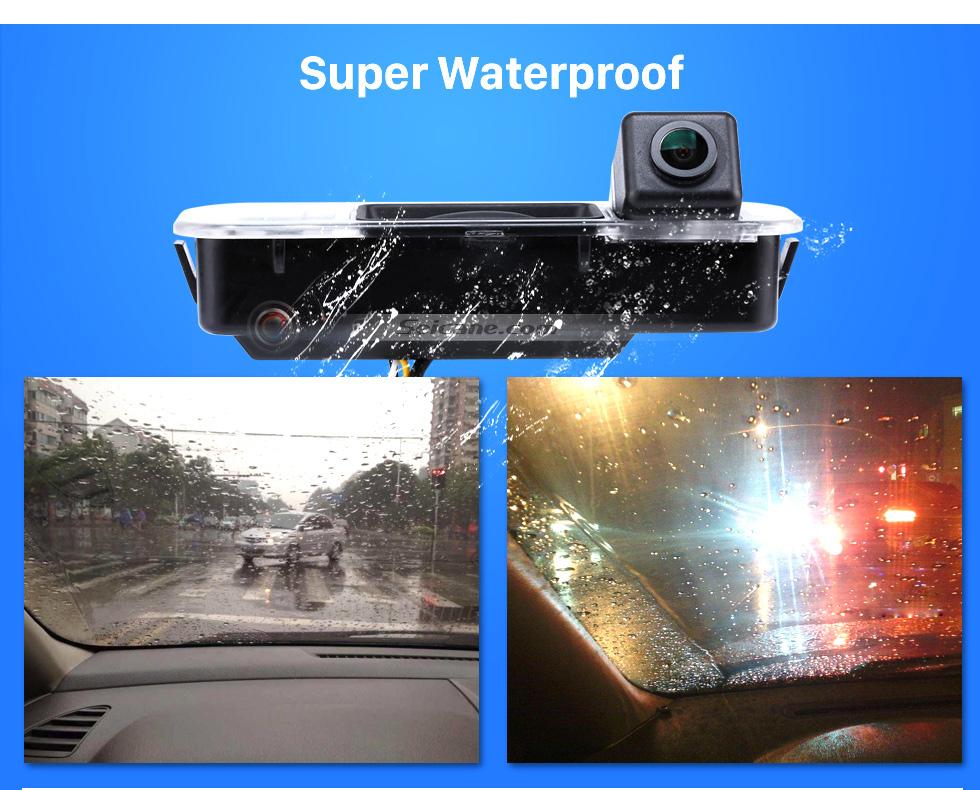 Super Waterproof HD SONY CCD 600 TV Líneas cable coche Estacionamiento cámara de reserva para 2012-2013 NEW Ford Focus two boxes three boxes a prueba de agua Vision nocturna envío gratis