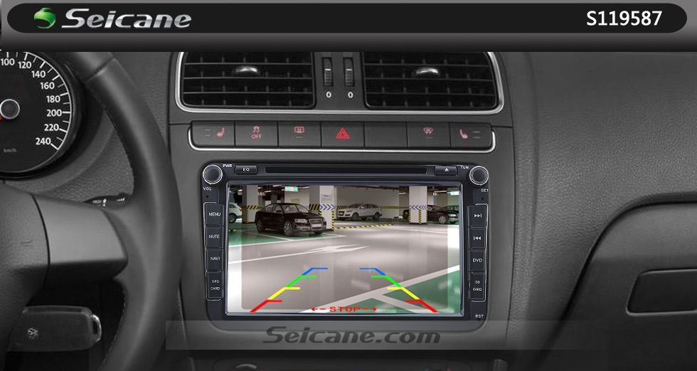 Seicane 170° HD Waterproof Blue Ruler Night Vision Car Rear View Camera for 2008-2012 PEUGEOT 407/408/307( two boxes)/308CC/307CC free shipping
