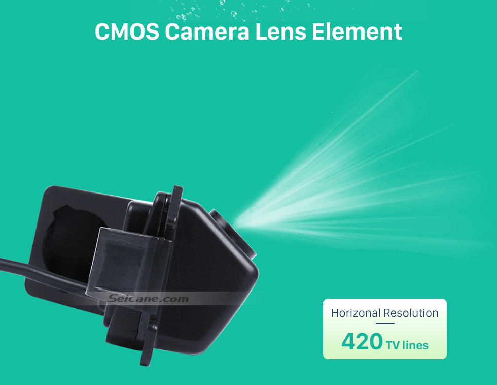 CMOS Camera Lens Element 170° HD Waterproof Blue Ruler Night Vision Car Rear View Camera for Hyundai I30L ROHENS-Coupe Hyundai Veloster free shipping