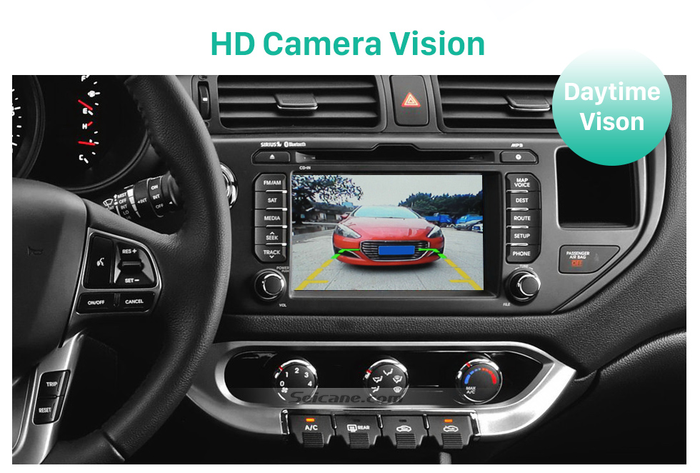 HD Camera Vision HD Wired Car Parking Backup Reversing Camera for KIA K5 Waterproof four-color ruler and LR logo Night Vision free shipping